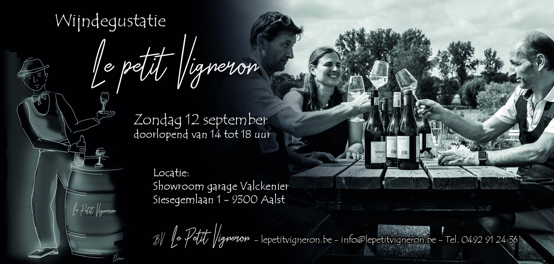 Uitnodiging Wijndegustatie 12/09/'21